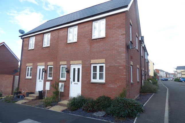 Thumbnail End terrace house to rent in Mead Cross, Cranbrook, Exeter