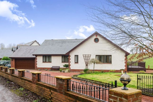 Thumbnail Detached bungalow for sale in Arran View, Stair, Mauchline