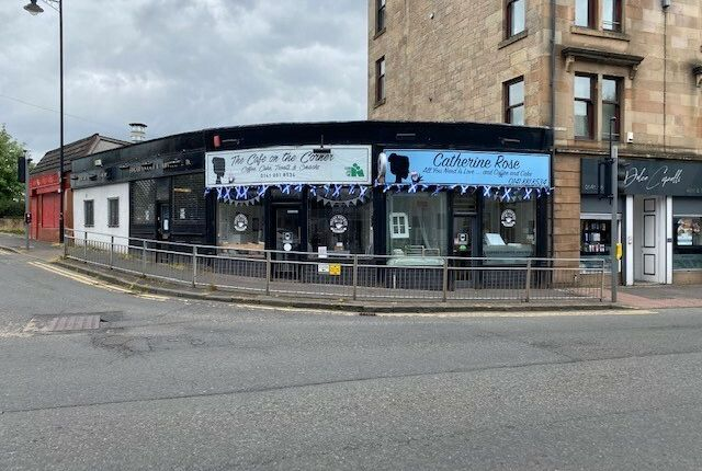 Thumbnail Retail premises for sale in Carlibar Road, Barrhead, Glasgow