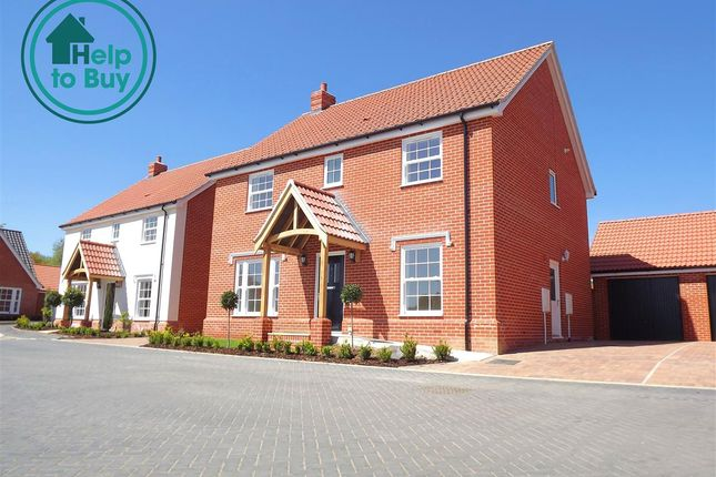 Thumbnail Property for sale in Plot 14 The Holkham, Springfield Grange, Acle