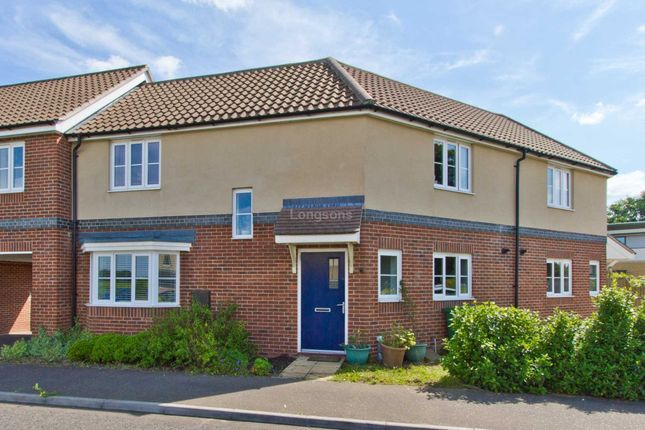 Thumbnail Terraced house for sale in Dr Torrens Way, New Costessey, Norwich