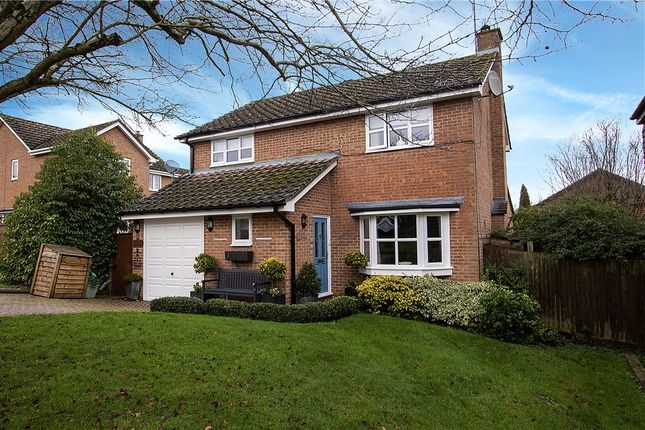 Thumbnail Detached house for sale in Highworth Way, Tilehurst, Reading