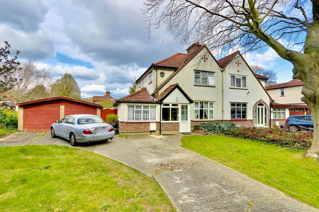 Thumbnail Semi-detached house to rent in Swakeleys Drive, Ickenham