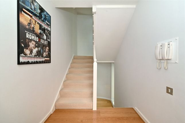 Staircase of Chandlers Mews, London E14
