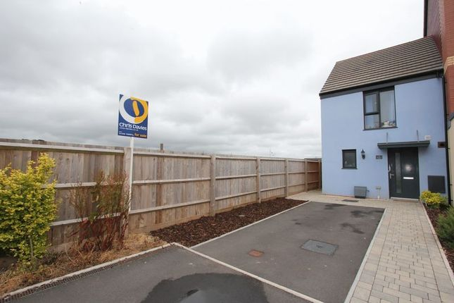 Thumbnail Semi-detached house for sale in Mariners Walk, Barry