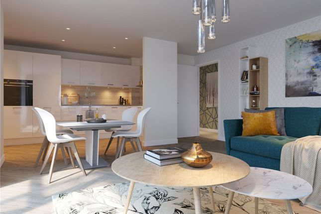 Thumbnail Flat for sale in Plot 7, - Square, Minerva Street, Glasgow
