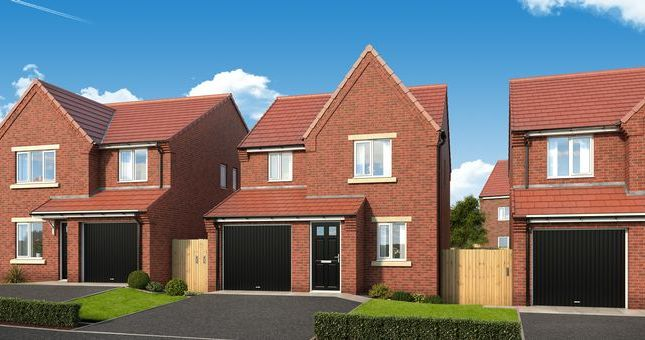Thumbnail Detached house for sale in The Redwood At The Garth, Dunblane Crescent, West Denton