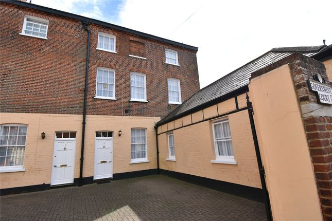 Thumbnail End terrace house for sale in Government Court, Wellington Road, Harwich, Essex