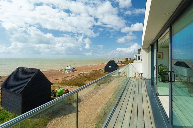 Balcony View of Fishermans Beach, Hythe CT21