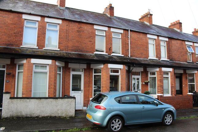 Thumbnail Terraced house for sale in Hollycroft Avenue, Belfast
