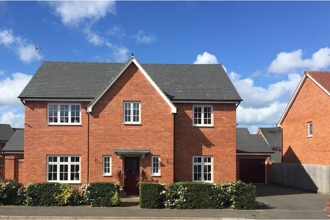 Thumbnail Detached house for sale in Newman Drive, Church Gresley, Swadlincote