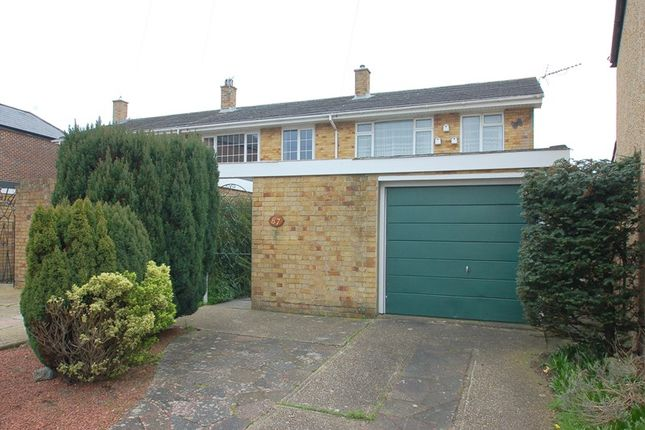 Thumbnail End terrace house for sale in The Avenue, Alverstoke, Gosport