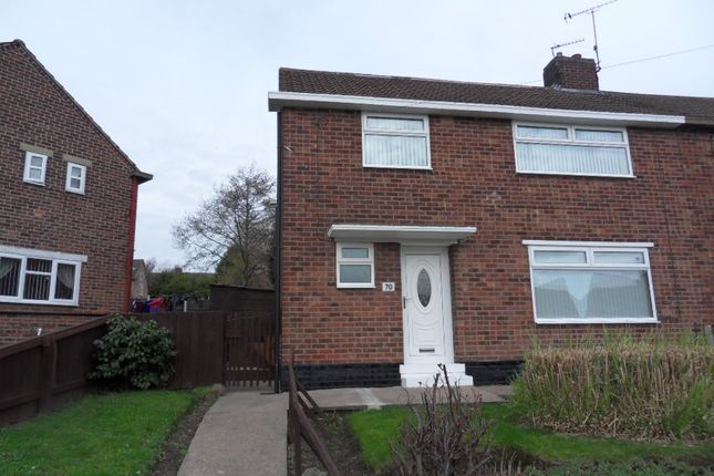 Thumbnail Semi-detached house to rent in Windermere Avenue, Kirk Hallam