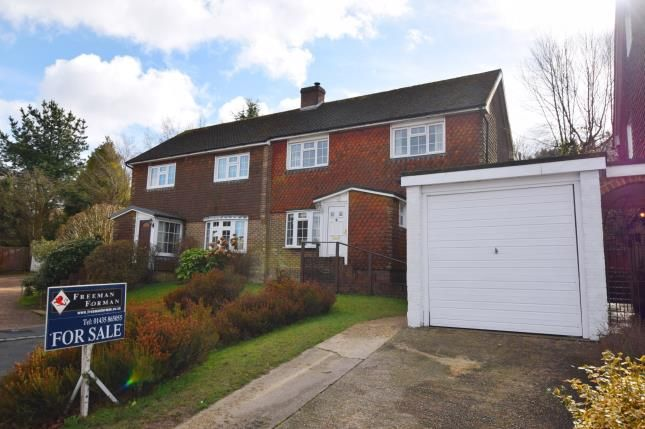Thumbnail Semi-detached house for sale in Mill Close, Heathfield, East Sussex