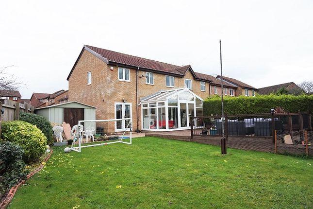 Thumbnail End terrace house for sale in Tremains Court, Brackla, Bridgend, Bridgend County.