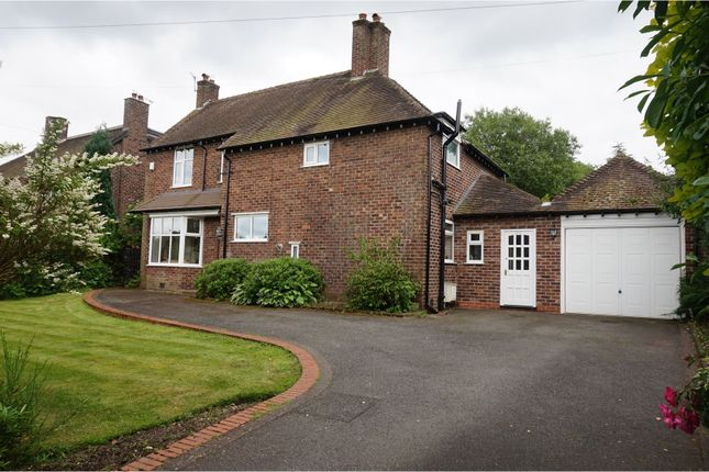 Thumbnail Detached house for sale in Oldfield Road, Altrincham