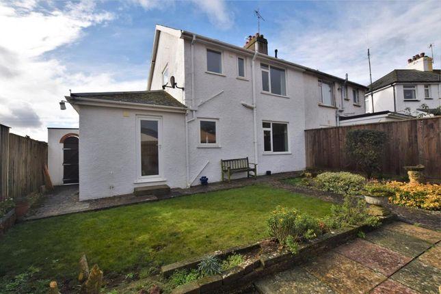 Thumbnail Semi-detached house for sale in Rowcroft Road, Paignton, Devon