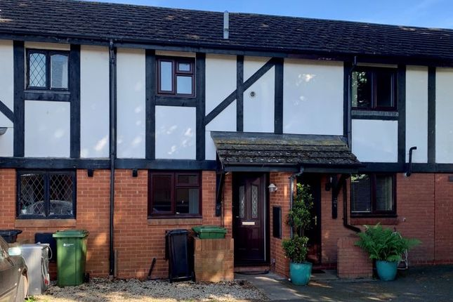 Thumbnail Terraced house for sale in Huntsmans Drive, Hereford