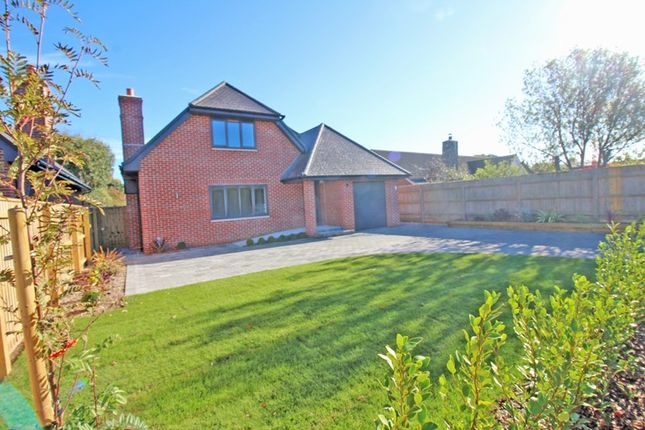 Thumbnail Detached house for sale in Knowland Drive, Milford On Sea, Lymington