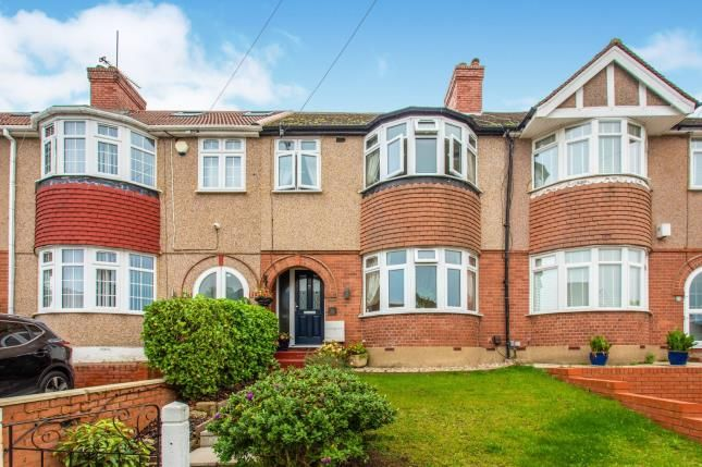Thumbnail 3 bed terraced house for sale in Vernon Rise, Greenford, Middlesex, London