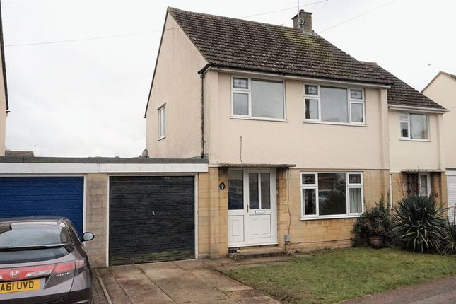 Thumbnail Semi-detached house to rent in John Lopes Road, Eynsham, Witney