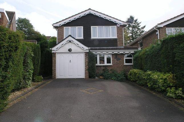 Thumbnail Detached house for sale in Woburn Drive, Halesowen