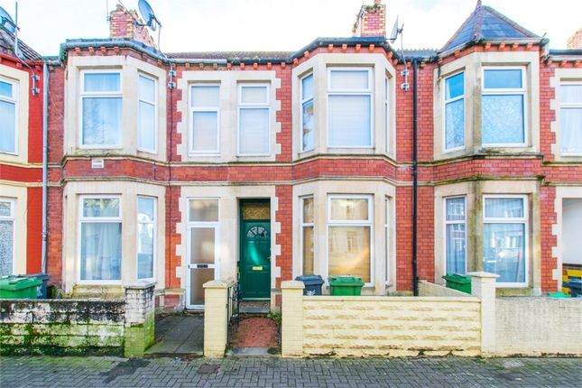 Thumbnail Terraced house for sale in Clarence Place, Cardiff, South Glamorgan