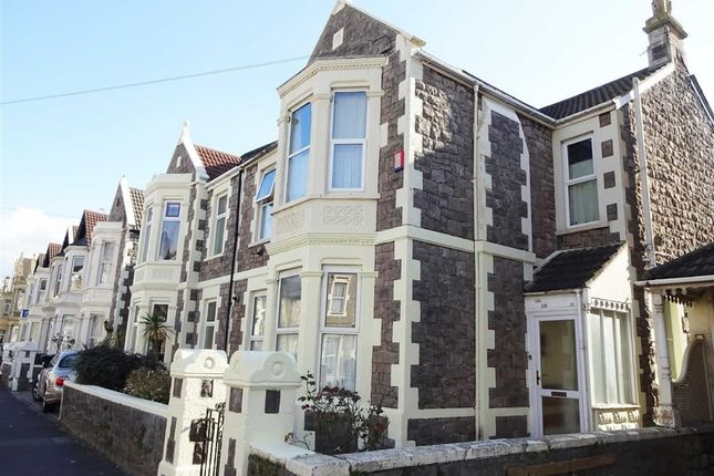 Thumbnail Flat to rent in Clevedon Road, Weston-Super-Mare