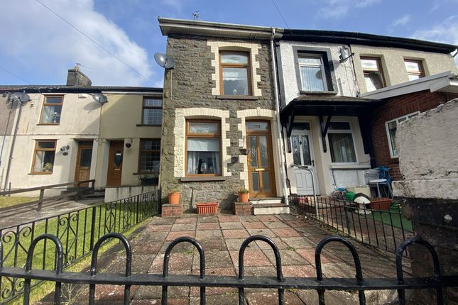 Thumbnail Terraced house for sale in Trebanog Road, Porth -, Porth