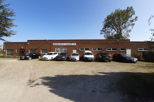 Thumbnail Industrial for sale in Former Modern Metal Finishes, Ellifoot Lane, Burstwick, Hull, East Riding Of Yorkshire