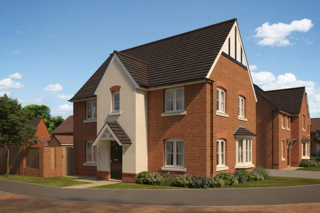 "Thumbnail Detached house for sale in ""Hollinwood"" at The Walk, Withington, Hereford"