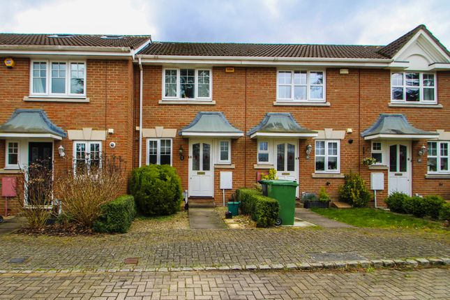 Thumbnail Terraced house to rent in Picton Close, Wellington Park, Camberley