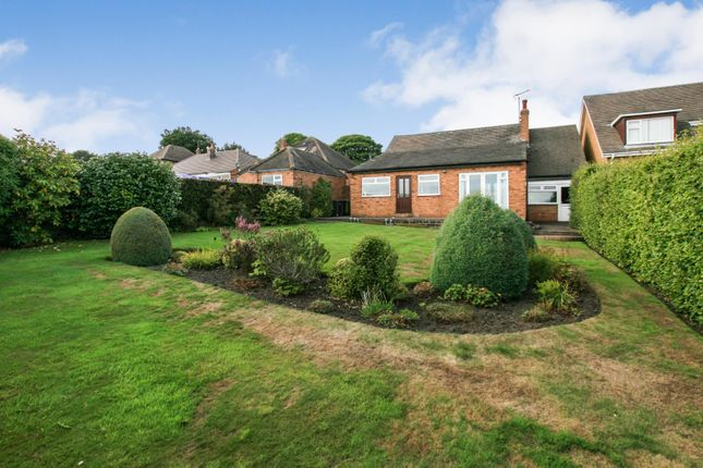 Thumbnail Bungalow for sale in Main Road, Holmesfield, Derbyshire