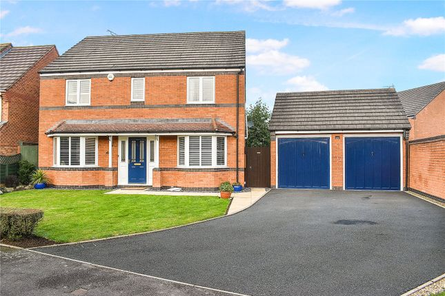 4 bed detached house for sale in Rebekah Gardens, Droitwich Spa, Worcestershire WR9