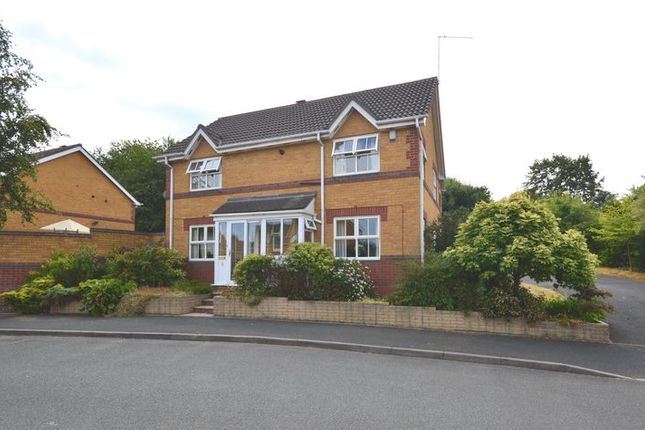 Thumbnail Detached house for sale in Fireclay Drive, St. Georges, Telford