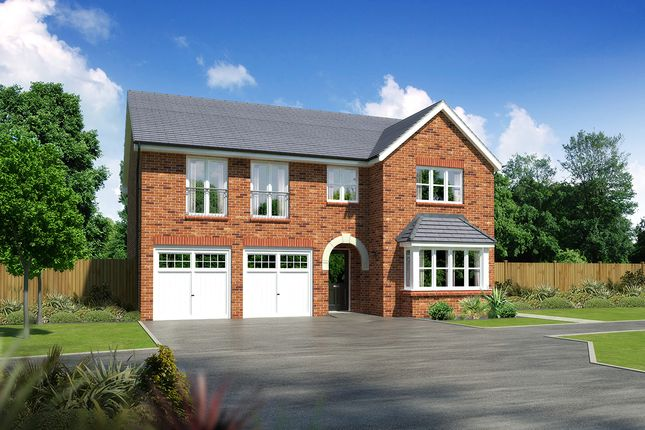 """Thumbnail Detached house for sale in """"Melton"""" at Moorfields, Willaston, Nantwich"""
