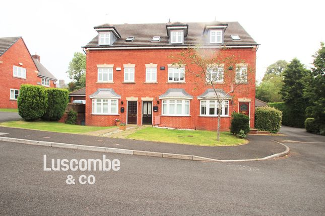 Thumbnail Town house to rent in Mons Close, Newport