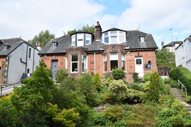 Thumbnail Semi-detached house for sale in Florence Drive, Giffnock, Glasgow
