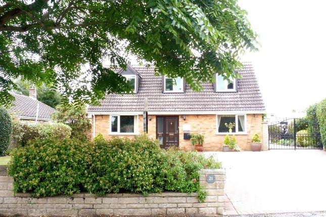 Thumbnail Detached house for sale in East End, Langtoft, Peterborough