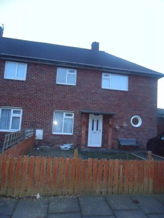 Thumbnail Semi-detached house to rent in Wharfedale Gardens, Blyth