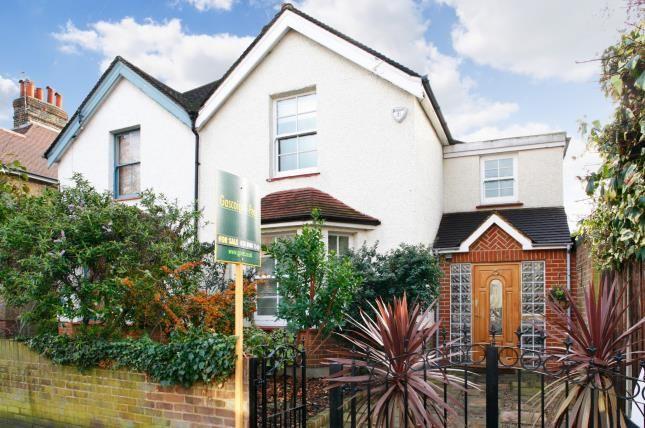 Thumbnail Semi-detached house for sale in Chilton Road, Kew, Richmond