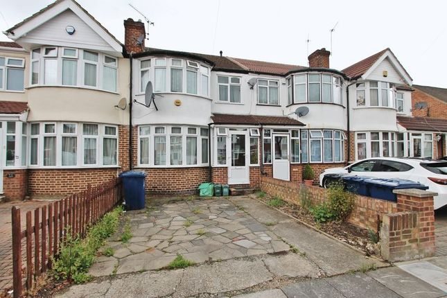 Thumbnail Terraced house to rent in Millet Road, Greenford