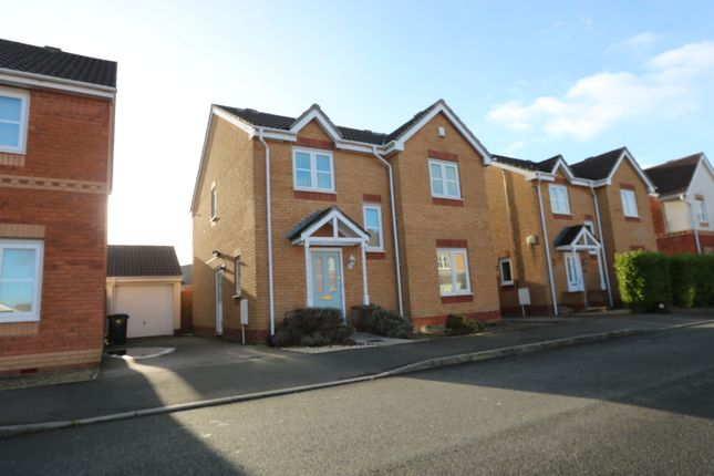 Thumbnail Detached house to rent in Spencer David Way, St. Mellons, Cardiff