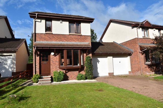 Thumbnail Link-detached house for sale in Kaims Brae, Livingston Village, Livingston