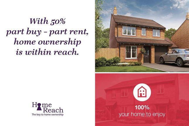 "Thumbnail Detached house for sale in ""The Aldenham - Plot 101"" at Rufus Road, Carlisle"