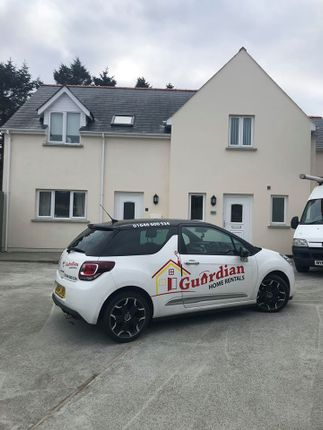 Thumbnail Semi-detached house to rent in Portfield, Haverfordwest
