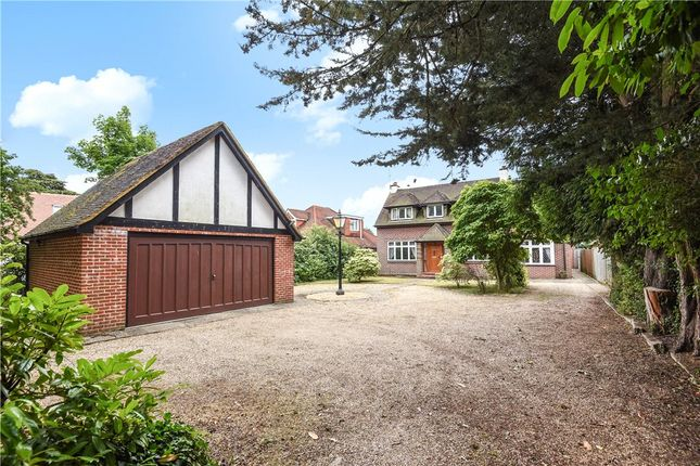 Thumbnail Detached house for sale in The Meadway, Tilehurst, Reading