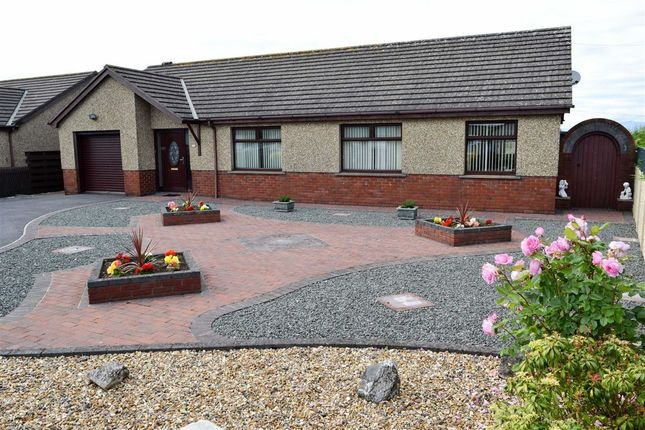 Thumbnail Detached bungalow for sale in Ireleth Court Road, Askam In Furness, Cumbria