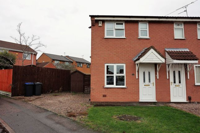 2 bed semi-detached house to rent in Lime Avenue, Groby LE6