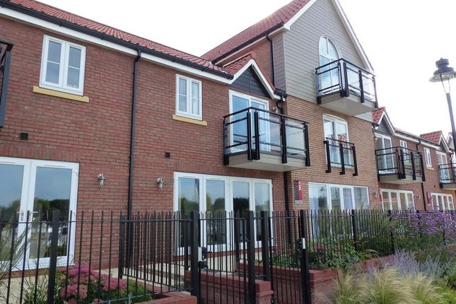 Thumbnail Terraced house for sale in The Quays, Burton Waters, Lincoln